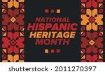 national hispanic heritage...   Shutterstock .eps vector #2011270397