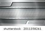textured industrial metal... | Shutterstock .eps vector #2011358261