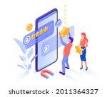 people leave 5 stars  positive...   Shutterstock .eps vector #2011364327
