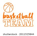 basketball team sign with copy...   Shutterstock .eps vector #2011525844