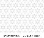 flower geometric pattern....   Shutterstock .eps vector #2011544084