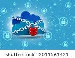 3d rendering cloud computing ... | Shutterstock . vector #2011561421