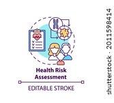health risk assessment concept... | Shutterstock .eps vector #2011598414