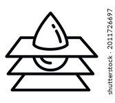 water filter slice icon.... | Shutterstock .eps vector #2011726697