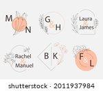 wedding monogram. vintage... | Shutterstock .eps vector #2011937984