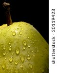 fresh pear closeup isloated on...   Shutterstock . vector #20119423