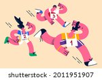 sport  active lifestyle ... | Shutterstock .eps vector #2011951907