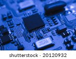 fragment of the electronic...   Shutterstock . vector #20120932