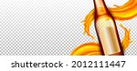beer blank glass bottle and... | Shutterstock .eps vector #2012111447