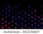 dark blue  red vector layout...   Shutterstock .eps vector #2012156027