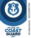 u.s. coast guard day in united...   Shutterstock .eps vector #2012304734