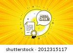 mega sale. yellow vector button ... | Shutterstock .eps vector #2012315117
