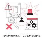 computer system breakdown  data ...   Shutterstock .eps vector #2012410841