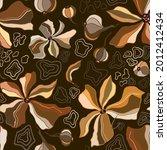 marble texture seamless pattern.... | Shutterstock .eps vector #2012412434