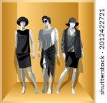 Three Female Mannequins In...