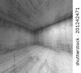empty room  abstract concrete... | Shutterstock . vector #201242471