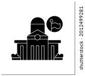 public office glyph icon....   Shutterstock .eps vector #2012499281