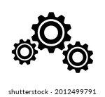 setting gears symbol vector icon   Shutterstock .eps vector #2012499791