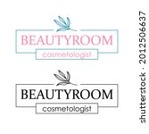 floral logo design for beauty... | Shutterstock .eps vector #2012506637
