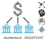 mesh bank organization web...   Shutterstock .eps vector #2012571347