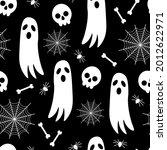 seamless pattern halloween... | Shutterstock .eps vector #2012622971