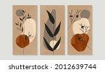mid century modern triptych...   Shutterstock .eps vector #2012639744