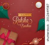 happy raksha bandhan concept... | Shutterstock .eps vector #2012649587
