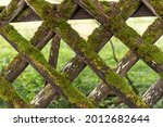 Wooden Garden Fence Covered...