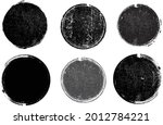 grunge post stamps collection ... | Shutterstock .eps vector #2012784221