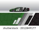 car wrap decal designs.... | Shutterstock .eps vector #2012849177