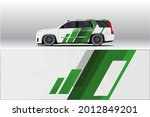 car wrap decal designs.... | Shutterstock .eps vector #2012849201