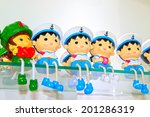 cartoon characters chinese... | Shutterstock . vector #201286319