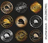 senegal business metal stamps.... | Shutterstock .eps vector #2012882981