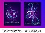 techno event. dynamic gradient...   Shutterstock .eps vector #2012906591