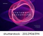 dj party. dynamic fluid shape...   Shutterstock .eps vector #2012906594