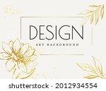 abstract botanical art vector....   Shutterstock .eps vector #2012934554