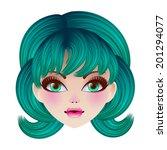 Beautyful Cartoon Doll Face....