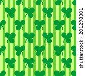 st. patrick's day seamless... | Shutterstock .eps vector #201298301