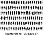 illustration of business people | Shutterstock .eps vector #20130157