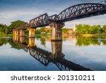 Bridge River Kwai  Kanchanaburi ...