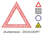 mesh contour triangle web...   Shutterstock .eps vector #2013110297