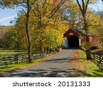 An Autumn View Of The Historic...