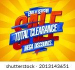 end of season sale  total... | Shutterstock .eps vector #2013143651