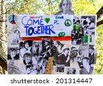 new york   december 8  a... | Shutterstock . vector #201314447