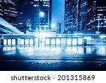 bus stop billboard | Shutterstock . vector #201315869