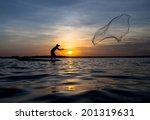 Tropical Net Fishing.