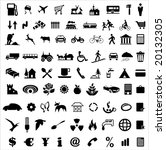 collection of various icons... | Shutterstock .eps vector #20132305