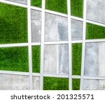 Cement Wall With Artificial...