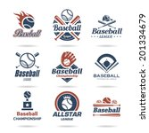 Baseball Icon Set   3