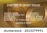 symptoms of graves' disease.... | Shutterstock .eps vector #2013379991